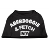 Mirage Pet Products Aberdoggie NY Screenprint Shirts Black  XXXL (20)