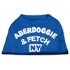 Mirage Pet Products Aberdoggie NY Screenprint Shirts Blue XS (8)