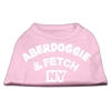 Mirage Pet Products Aberdoggie NY Screenprint Shirts Light Pink XXXL (20)