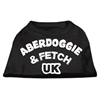 Mirage Pet Products Aberdoggie UK Screenprint Shirts Black  XS (8)