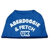 Mirage Pet Products Aberdoggie UK Screenprint Shirts Blue Med (12)
