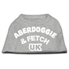 Mirage Pet Products Aberdoggie UK Screenprint Shirts Grey XS (8)