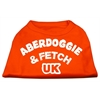 Mirage Pet Products Aberdoggie UK Screenprint Shirts Orange XXXL (20)