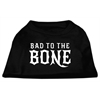 Mirage Pet Products Bad to the Bone Dog Shirt Black XXXL (20)