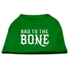 Mirage Pet Products Bad to the Bone Dog Shirt Emerald Green XS (8)