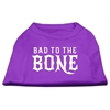 Mirage Pet Products Bad to the Bone Dog Shirt Purple XS (8)