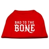 Mirage Pet Products Bad to the Bone Dog Shirt Red Med (12)
