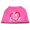 Mirage Pet Products Be Mine Screen Print Shirt Bright Pink XXL (18)