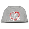 Mirage Pet Products Be Mine Screen Print Shirt Grey XS (8)