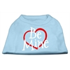 Mirage Pet Products Be Mine Screen Print Shirt Baby Blue XS (8)