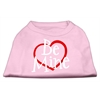 Mirage Pet Products Be Mine Screen Print Shirt Light Pink  XS (8)