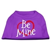 Mirage Pet Products Be Mine Screen Print Shirt Purple XS (8)