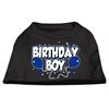 Mirage Pet Products Birthday Boy Screen Print Shirts Black  XXXL (20)