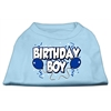Mirage Pet Products Birthday Boy Screen Print Shirts Baby Blue XXL (18)