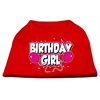 Mirage Pet Products Birthday Girl Screen Print Shirts Red XXXL (20)