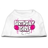 Mirage Pet Products Birthday Girl Screen Print Shirts White XL (16)