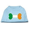 Mirage Pet Products Bone Flag Ireland Screen Print Shirt Baby Blue XL (16)