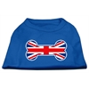 Mirage Pet Products Bone Shaped United Kingdom (Union Jack) Flag Screen Print Shirts Blue Lg (14)