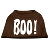 Mirage Pet Products Boo! Screen Print Shirts Brown Lg (14)
