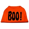 Mirage Pet Products Boo! Screen Print Shirts Orange Lg (14)