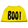 Mirage Pet Products Boo! Screen Print Shirts Yellow XXL (18)