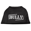 Mirage Pet Products Bully Screen Printed Shirt  Black  XXL (18)