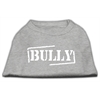 Mirage Pet Products Bully Screen Printed Shirt  Grey XS (8)