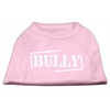 Mirage Pet Products Bully Screen Printed Shirt  Light Pink XL (16)