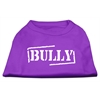 Mirage Pet Products Bully Screen Printed Shirt  Purple Med (12)