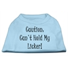Mirage Pet Products Can't Hold My Licker Screen Print Shirts Baby Blue XL (16)