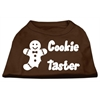 Mirage Pet Products Cookie Taster Screen Print Shirts Brown Med (12)