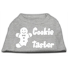 Mirage Pet Products Cookie Taster Screen Print Shirts Grey Lg (14)