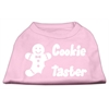 Mirage Pet Products Cookie Taster Screen Print Shirts Light Pink XXL (18)