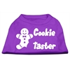 Mirage Pet Products Cookie Taster Screen Print Shirts Purple Lg (14)