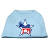 Mirage Pet Products Democrat Screen Print Shirts Baby Blue XL (16)