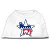 Mirage Pet Products Democrat Screen Print Shirts White XL (16)