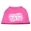 Mirage Pet Products Dirty Dogs Screen Print Shirt Bright Pink XXXL (20)