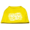 Mirage Pet Products Dirty Dogs Screen Print Shirt Yellow XXXL (20)