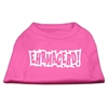 Mirage Pet Products Ehrmagerd Screen Print Shirt Bright Pink XL (16)