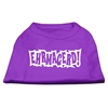 Mirage Pet Products Ehrmagerd Screen Print Shirt Purple Lg (14)