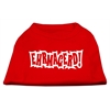 Mirage Pet Products Ehrmagerd Screen Print Shirt Red XS (8)