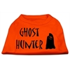 Mirage Pet Products Ghost Hunter Screen Print Shirt Orange Lg (14)