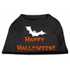Mirage Pet Products Happy Halloween Screen Print Shirts Black S (10)