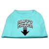 Mirage Pet Products Happy Meter Screen Printed Dog Shirt Aqua Sm (10)