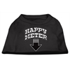 Mirage Pet Products Happy Meter Screen Printed Dog Shirt Black  XS (8)