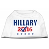 Mirage Pet Products Hillary Checkbox Election Screenprint Shirts White Sm (10)