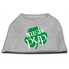 Mirage Pet Products Irish Pup Screen Print Shirt Grey XXXL (20)
