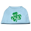 Mirage Pet Products Irish Pup Screen Print Shirt Baby Blue XXL (18)