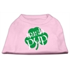 Mirage Pet Products Irish Pup Screen Print Shirt Light Pink  XS (8)