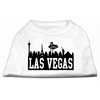 Mirage Pet Products Las Vegas Skyline Screen Print Shirt White XXL (18)
